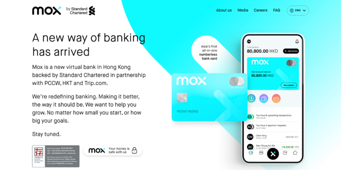 Mox Bank to launch in Hong Kong
