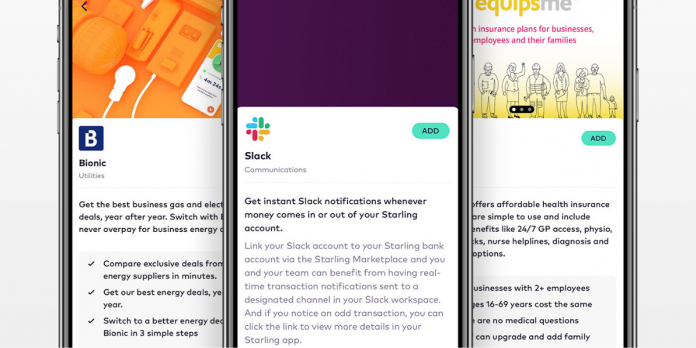 Starling Bank boosts business offering with Slack, Bionic and Equipsme