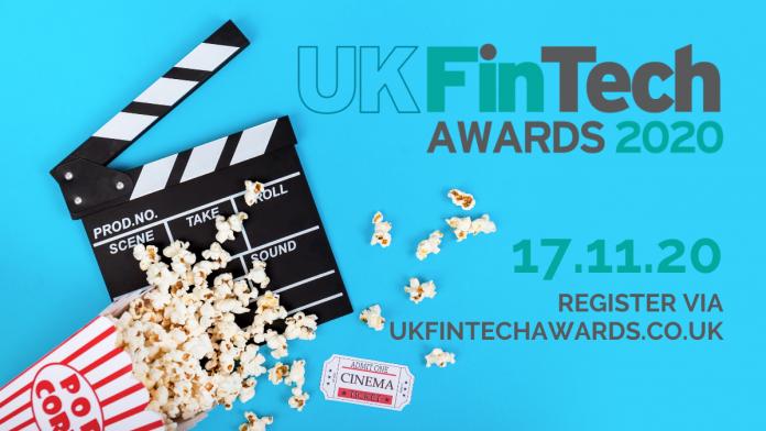 UK FinTech Awards 2020 - Register to watch
