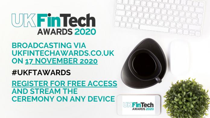 UK FinTech Awards 2020 ceremony set for online broadcast