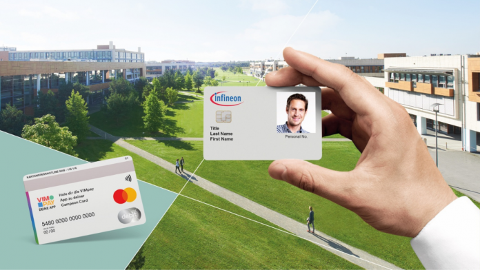 Infineon issues new employee ID card with payment functionality