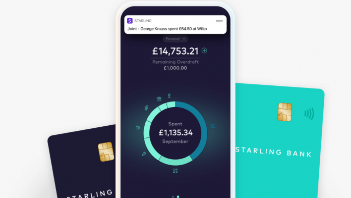 Starling Bank lands £272m in funding, achieves £1.1b pre-money valuation