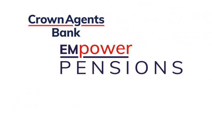 Crown Agents Bank launches EMpower Pensions