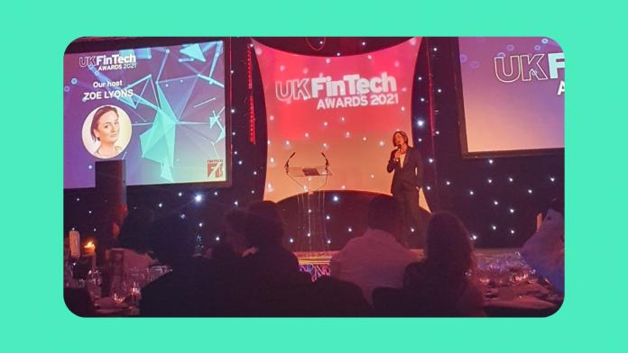 Fintech's finest celebrate at the UK FinTech Awards 2021 3