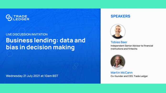 Trade Ledger webinar to tackle data and bias in business lending decision making